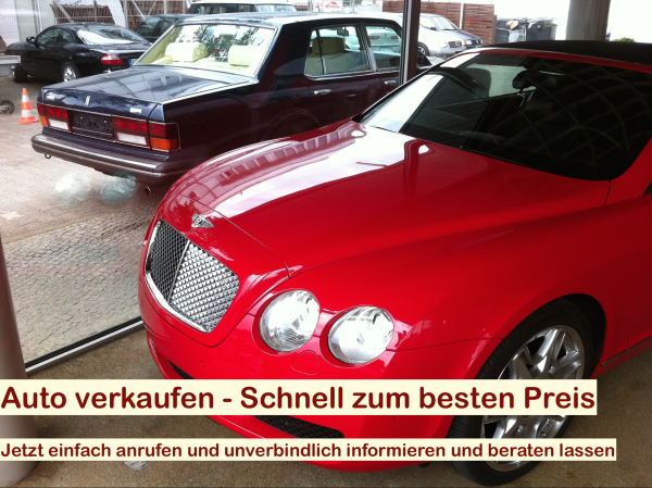 Auto verkaufen Berlin - Autohändler